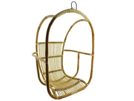 Rotan hangstoel egg chair dunja