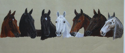 7 Pferdefreunde