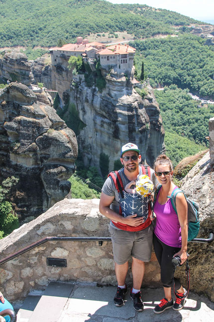 Meteora Greece With Baby
