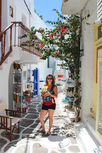 Mykonos Greece With Baby
