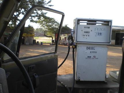 Petrolstation in Tanzania