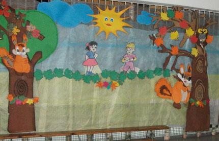 Przedszkole w Czaplinku - hol