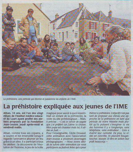 Le Maine Libre 31 mars 2014