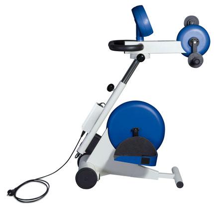 Mein Motomed trainiert Arme und Beine, aktiv, oder passiv mit Motor