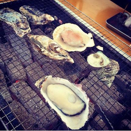 そして締め括りはやっぱり福岡・糸島の牡蠣 笑