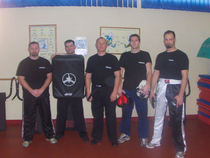STAGE TOULOUSE INSTRUCTEURS KRAV-MAGA 2007/2008