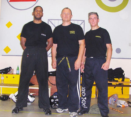 STAGE INSTRUCTEURS KRAV-MAGA CASTRES TARN 2012