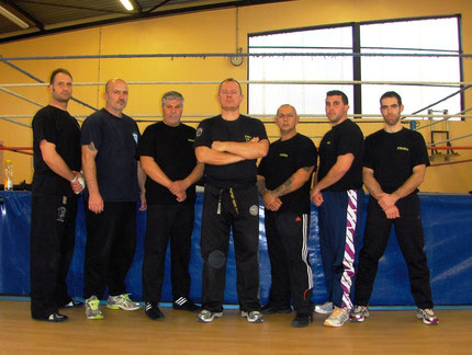 STAGE INSTRUCTEURS KRAV-MAGA CASTRES 2012
