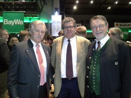 v.l n. r Ralph Keller, Prof. Dr. Sven Herzog, Dr. Edmund Wilhelm