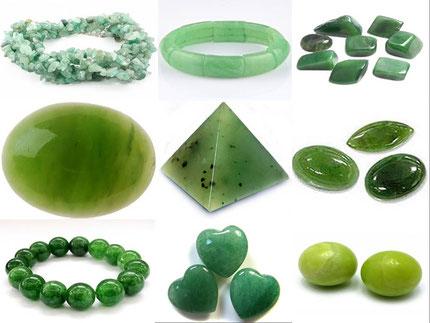 Jade -  Jade néphrite -Lithothérapie - Boutique minéraux - casa bien-être