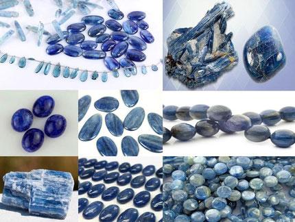 Cyanite - Lithothérapie - Boutique de minéraux - Casa bien-être