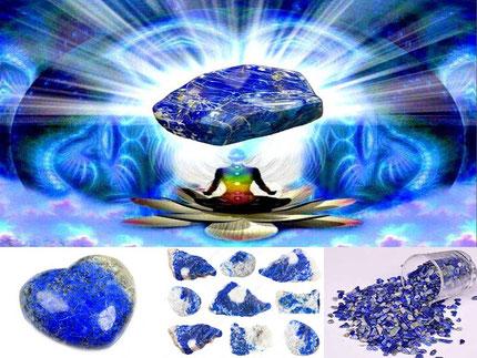 Lapis-Lazuli - Lithothérapie - Boutique de minéraux - Casa bien-être -