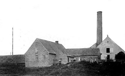 Die Inselziegelei von J. Ahrens zu Zeiten, als sie noch produzierte