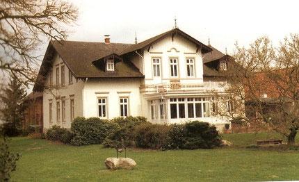 Das Wohnhaus vom Gut Wetjen aus der Zeit der Jahrhundertwende.