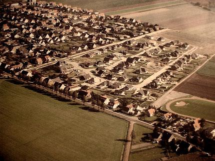 Die Högemannsiedlung in Sudweyhe am Sportplatz