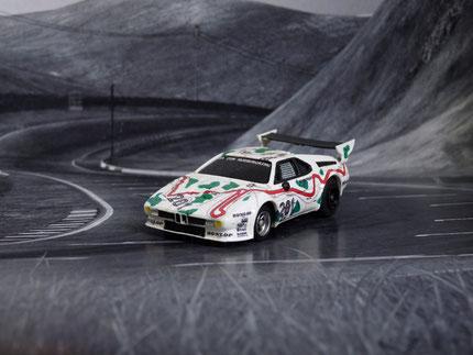 Faller AMS AURORA AFX BMW M1 Ja zum Nürburgring #201