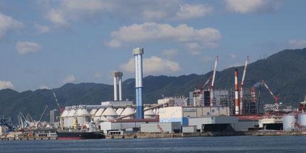 既設の石炭火力発電所