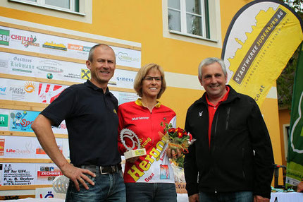 April 2014: Steirische Meisterin im Cross-Duathlon 4 Monate nach Vorfußoperation