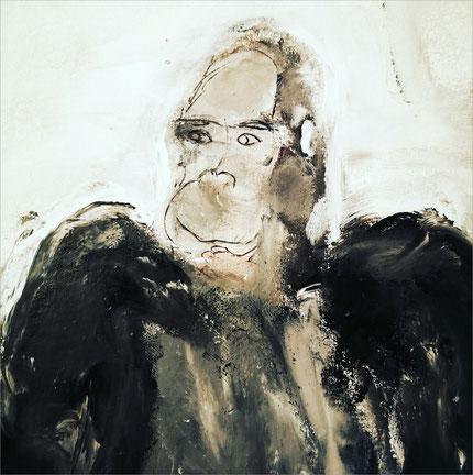 Christiane Holsten: Affenkunst XVIII-A
