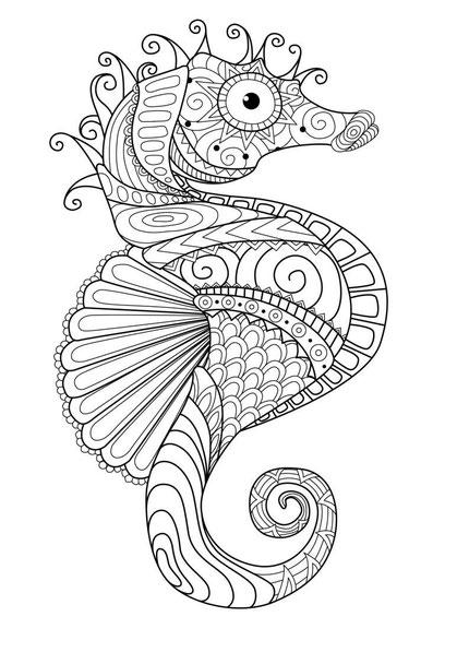 caballito de mar mandala