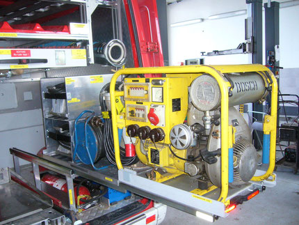 Einbau-Stromerzeuger-Tauchpumpe-Kabelrollen-Scheinwerfer 1500W
