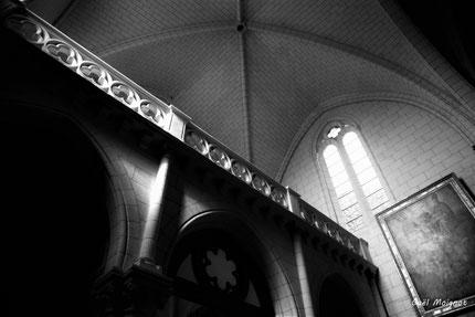 Eglise Saint-Sauveur de Saint-Macaire. 28/09/2019. Photographie © Gaël Moignot
