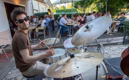 Tom Peyron, Thomas Saint-Laurent Trio, Festival JAZZ360, Restaurant les Acacias, Cénac. 10/06/2017