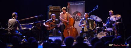 Festival JAZZ360 reçoit Eym Trio, avec Elie Dufour, Mohamed Abozekry, Yann Phayphet, Marian Badoï, Marc Michel