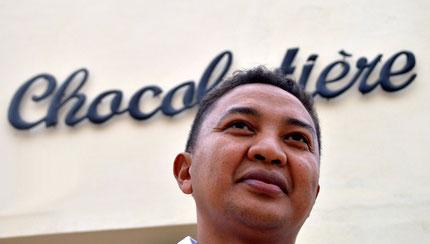 Chocolat Master Hery Andriamampianina