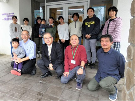 社会福祉法人 ふじの園 「一関藤の園」の職員と子どもたち