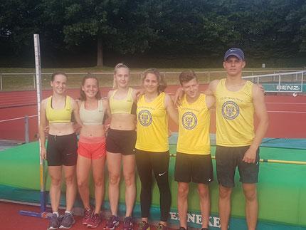 aussichtsreiche LFV Athleten für die badischen U16 Meisterschaften