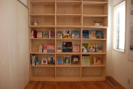 日本キリスト改革派長久手教会 子供のための本のコーナー