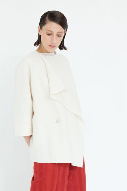 casual: moderne Jacke aus Bio-Wolle