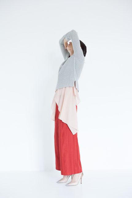natürlich: pflanzlich gefärbte Bluse handgefertigt in Berlin