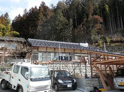 太陽光発電工事 施工前