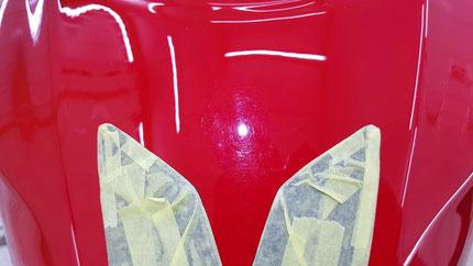 CBR1000RR‐R タンクの傷