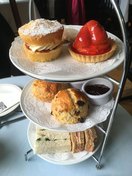 Afternoon Tea at The Willows Tea Room in Glasgow