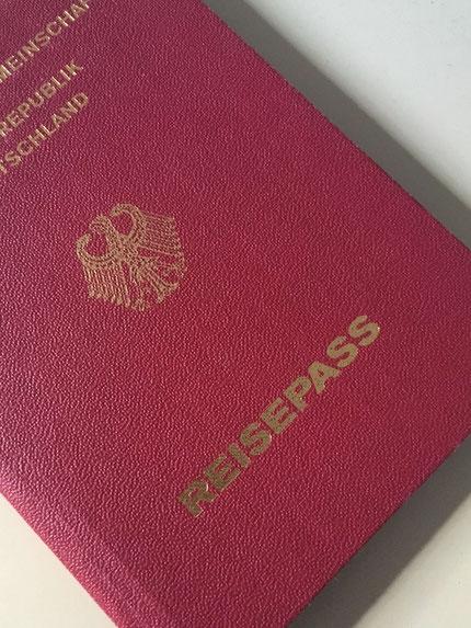 Pass oder Personalausweis nicht vergessen
