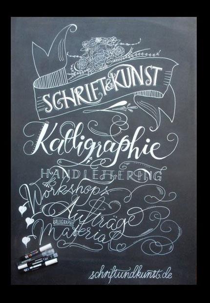 Chalk Art: Kalligraphie Handlettering und Handschrift!