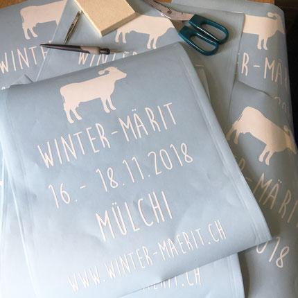 Druckatelier46 Mülchi - Blogartikel Autobeschriftung Winter-Märit Mülchi 2018