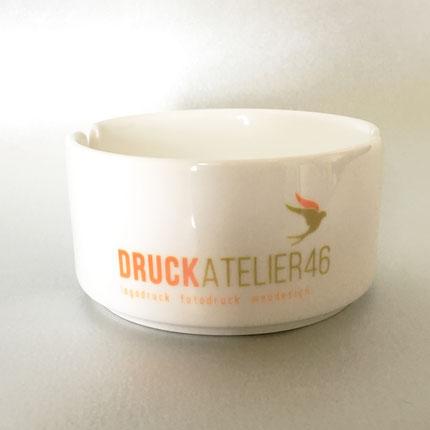 Druckatelier46 Mülchi - Blogartikel Personalisierbarer Aschenbecher
