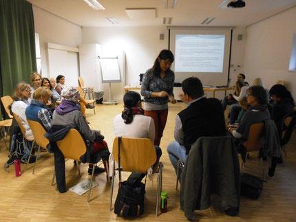 """Seminar: """"Lernen lernen"""" mit Roswitha Hafen für die PädagogInnen des Landes Steiermark im Wiki Fortbildungshaus."""