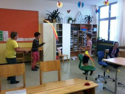 """Workshop: """"Lernen lernen"""" mit Roswitha Hafen an der MS Mooskrichen, finanziert vom Elternverein"""