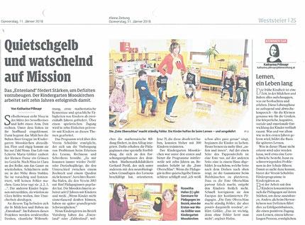 Kleine Zeitung, 11.01.2018