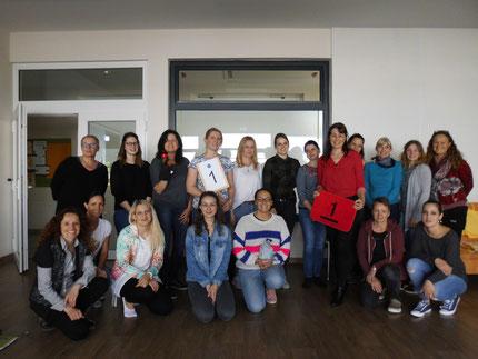 """Seminar """"Zahlenland 1 """" mit Roswitha Hafen im Kindergarten Lieboch, finanziert von der Firma ACE Lieboch."""