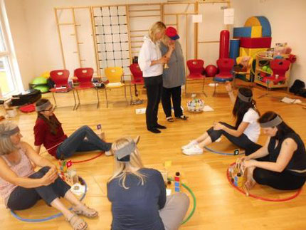 11.06.2016: Seminar Zahlenland 1 im Hort Voitsberg, durchgeführt von Roswitha Hafen