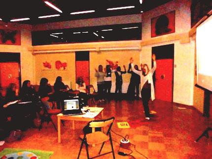 """Fortbildung für KindergartenpädagogInnen sowie VolksschullehrerInnen zum Thema """"Sinneswahrnehmungen und ihre Bedeutung für die Entwicklung der Kinder"""" im Kindergarten Lieboch, Teil 2, durchgeführt von Roswitha Hafen"""