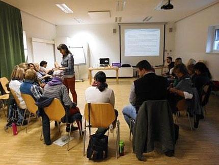 """21.10.2016 Seminar: """"Lernen lernen"""" als Fortbildung für HortpädagogInnen mit Roswitha Hafen über das Land Steiermark"""