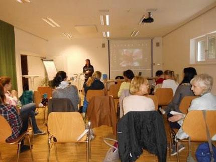 Fortbildung für KindergartenpädagogInnen mit Roswitha Hafen durch das Land Steiermark, Teil 2.