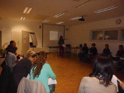 Fortbildung für KindergartenpädagogInnen mit Roswitha Hafen durch das Land Steiermark.